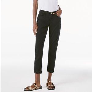 Frame Denim Le Garcon Jeans Black 27